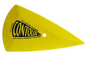 Contour - Long thin plastic scraper 18x8cm