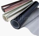 Reusable solar film (no glue) by meter. 50CM width.